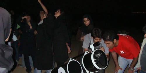 گشت رصدی ۲۱ آذر ماه همزمان با بارش شهابی جوزایی – حرکت از شیراز