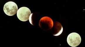 همه ی تورهای ماه گرفتگی چهارشنبه ۲۵ خرداد