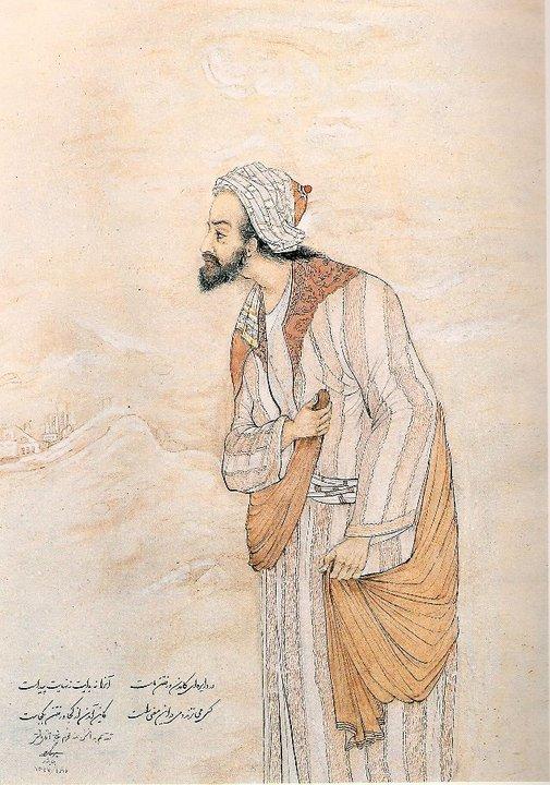 حکیم عمر خیام – اثر استاد حسین بهزاد