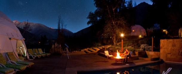 هتلی برای رصدگران آسمان شب